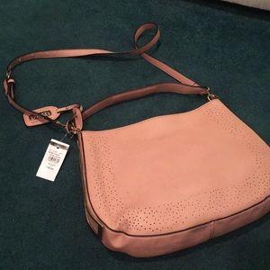 BNWT Blush Wilson's Leather Cross body purse